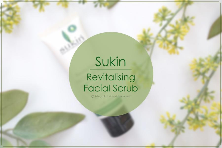 Sukin Revitalising Facial Scrub Review Social Nature