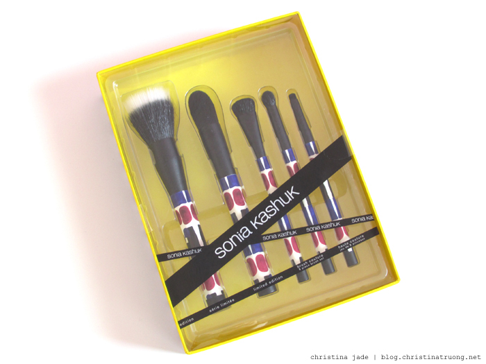 Farewell Target Canada Haul Sonia Kashuk Limited Edition Brush Couture 5 piece set