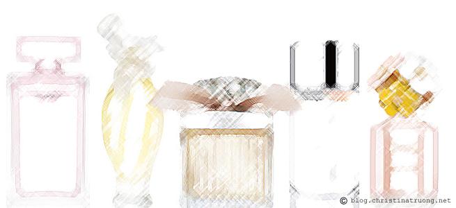 Top 5 Favourite Signature Perfume Fragrances