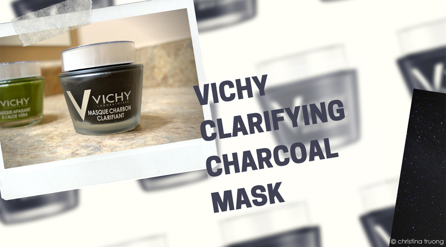 Vichy Clarifying Charcoal Mask with Kaolin and Natural Origin Charcoal. Purete Thermale Charcoal Mask Clarifies and Cleans Pores Review