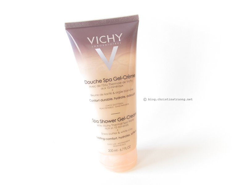 Vichy Ideal Body Care: Spa Shower Gel-Cream First Impression Review