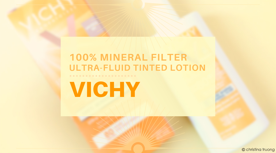 Vichy Ideal Soleil 100% Mineral Filter Ultra-Fluid Tinted Sunscreen Lotion SPF 60, Universal Tint Review