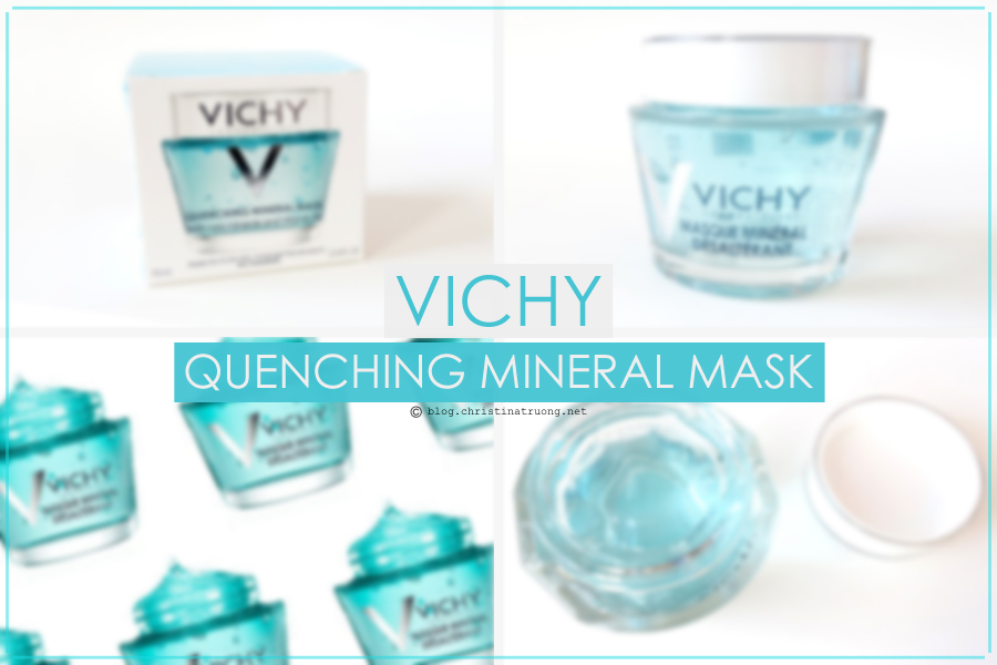 Vichy Quenching Mineral Mask With Rare Minerals and Vitamin B3 Review