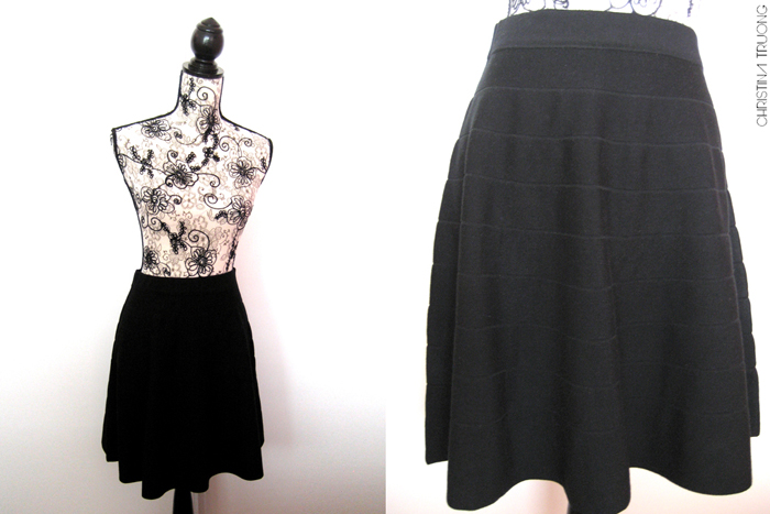 Winners Outfit Haul Challenge Fab Find Style Fashion - Max Studio Black Skirt