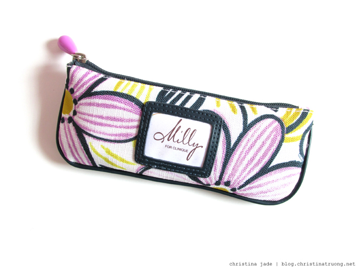 What's In My Makeup Bag Special Occasion Edition OpenTable Toronto Milly for Clinique