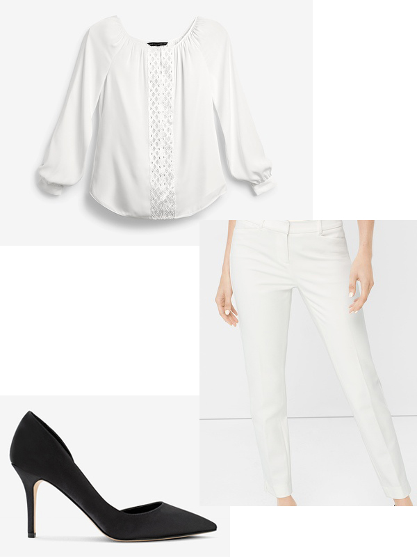 How to wear White after Labour Day White House Black Market Fashion