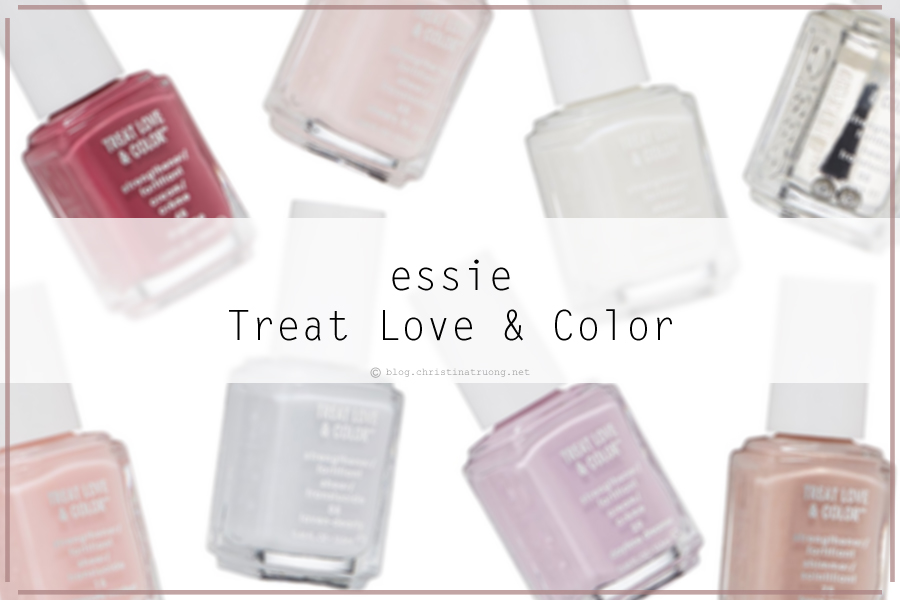 essie Treat Love and Color Strengthener Nail Polish Review