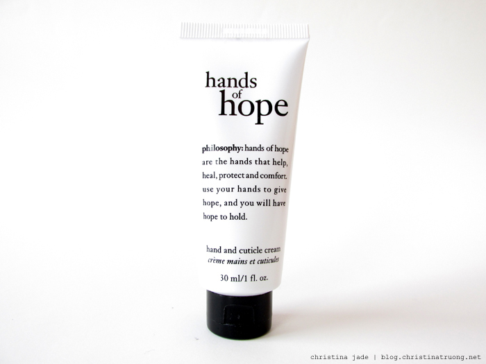philosophy hands of hope Review