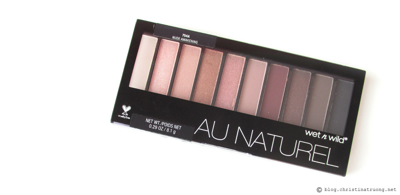 wet n wild Au Naturel Palette in 754A Nude Awakening Review and Swatches