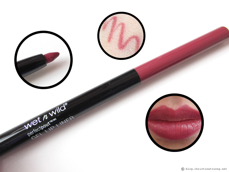 wet n wild's Perfect Pout Collection Gel Lip Liner 652C Gone Burgundy