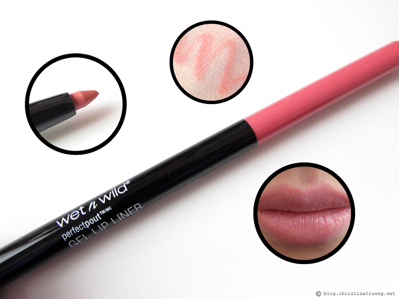 wet n wild's Perfect Pout Collection Gel Lip Liner 655A Think Flamingos