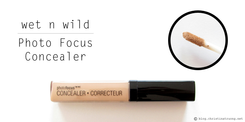 wet n wild Photo Focus Concealer 341B Light Medium Beige Review
