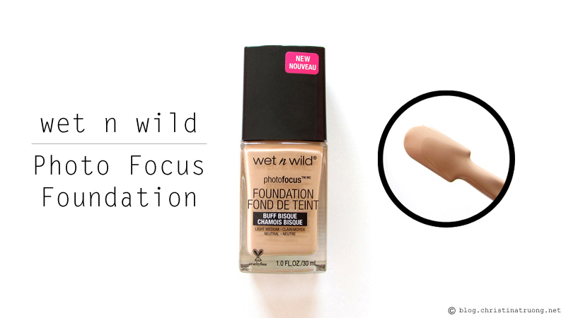 wet n wild Photo Focus Foundation 366C Buff Bisque Review