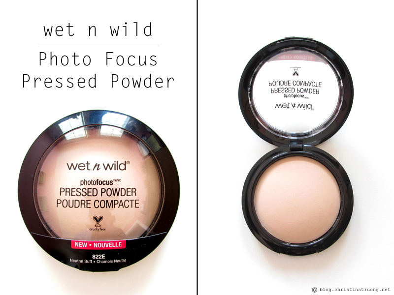 wet n wild Photo Focus Pressed Powder 822E Neutral Buff Review