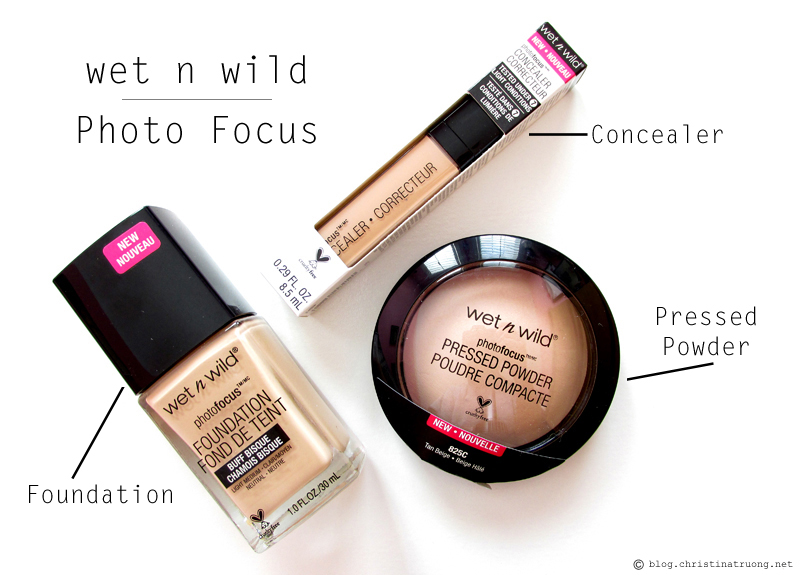 wet n wild 2017 collection Photo Focus Foundation Concealer Pressed Powder