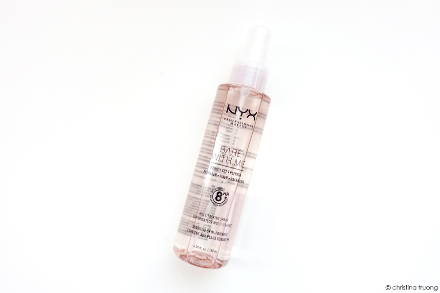 NYX Bare With Me Prime Set Refresh Multitasking Spray BWMSP01 Review