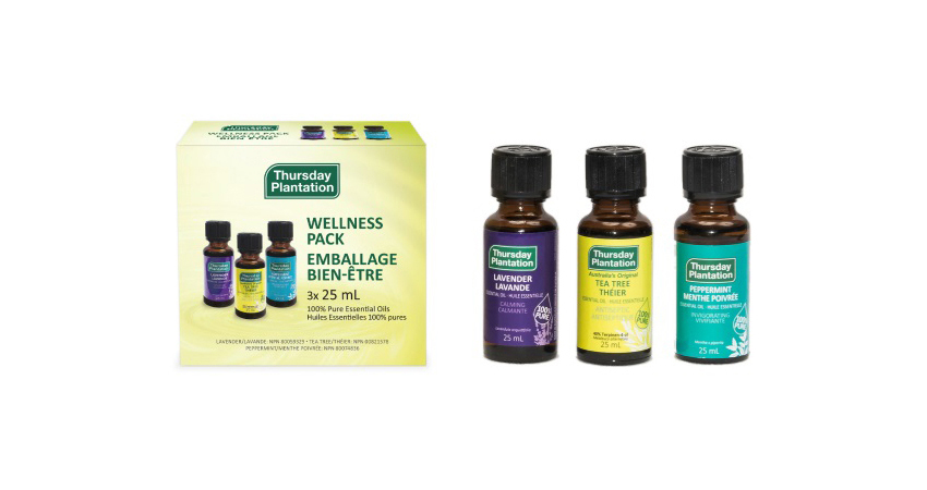 Holiday Essential Gifts from Abundance Naturally Thursday Plantation Wellness Pack Pure Essential Oils