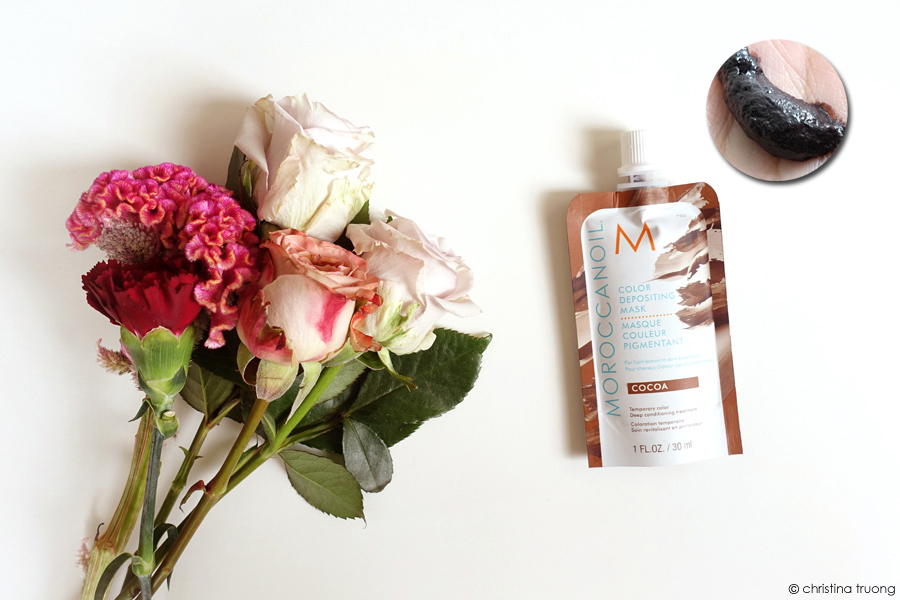 Moroccanoil Color Depositing Mask Cocoa Review