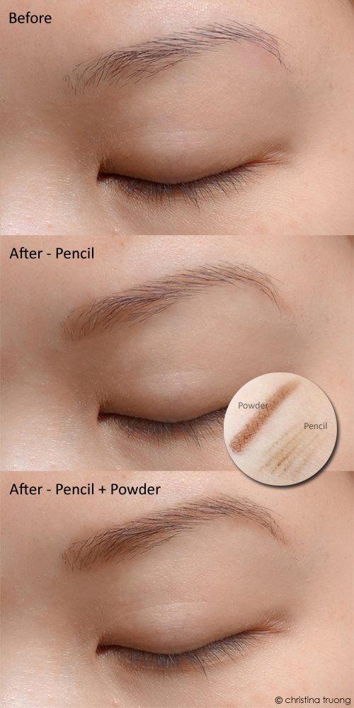 Revlon ColorStay Brow Creator 605 Soft Brown Review Before After