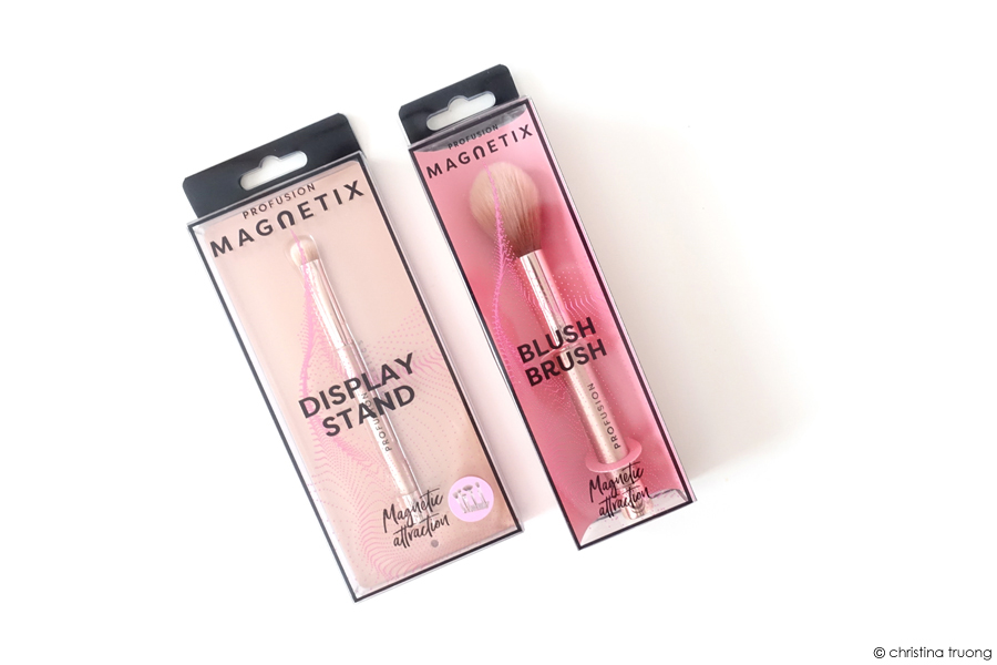 Farleyco Beauty Profusion Magnetix Magnetic Attraction Display Stand Eyeshadow Brush Blush Brush Review
