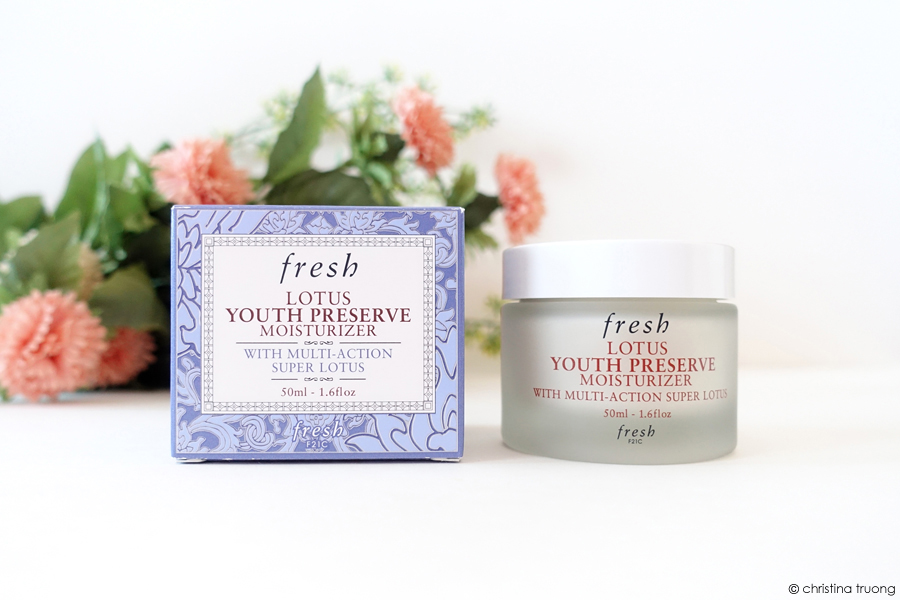 Fresh Lotus Youth Preserve Moisturizer With Multi-Action Super Lotus Review