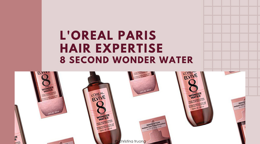 L'Oreal Paris Hair Expertise 8 Second Wonder Water Review