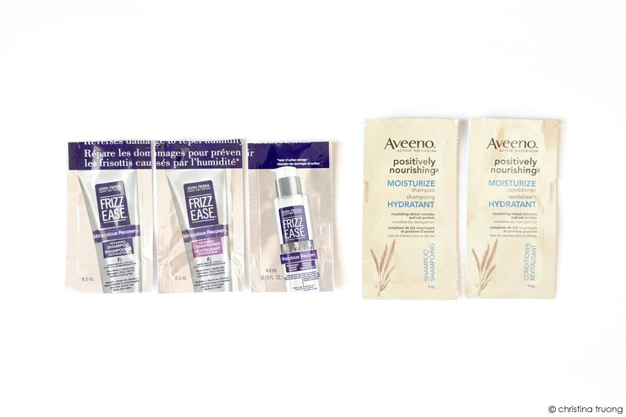 April 2020 Empties Hair Care Products John Frieda Aveeno