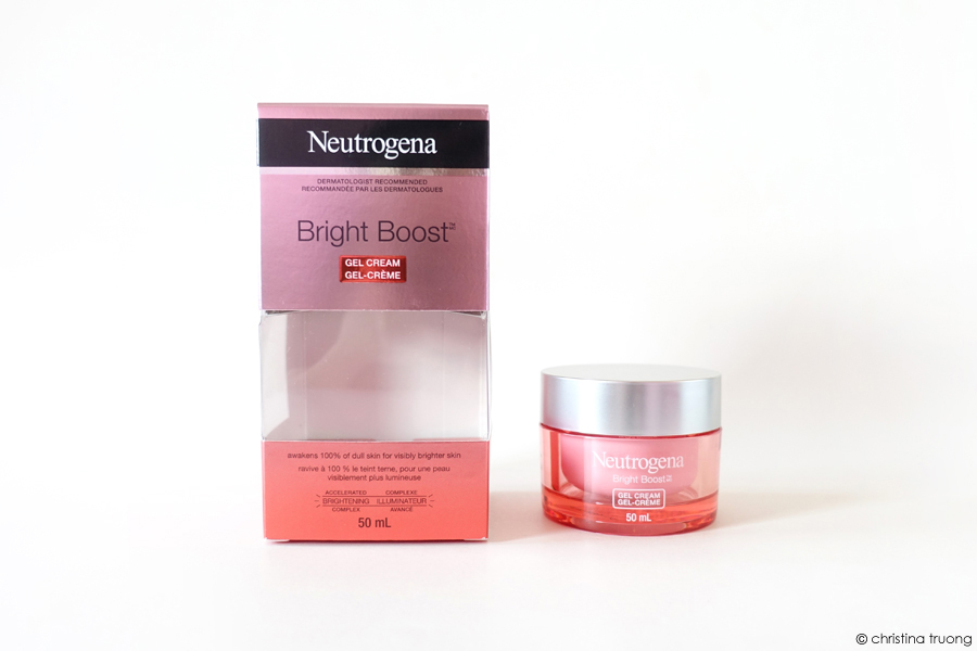 Neutrogena Bright Boost Gel Cream Review