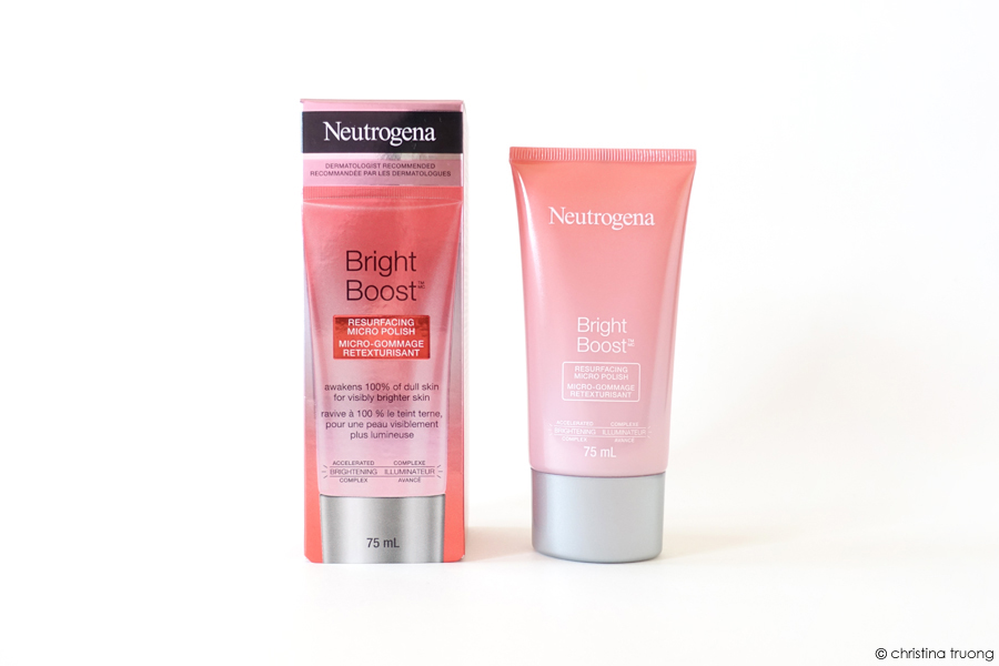 Neutrogena Bright Boost Resurfacing Micro Polish Review