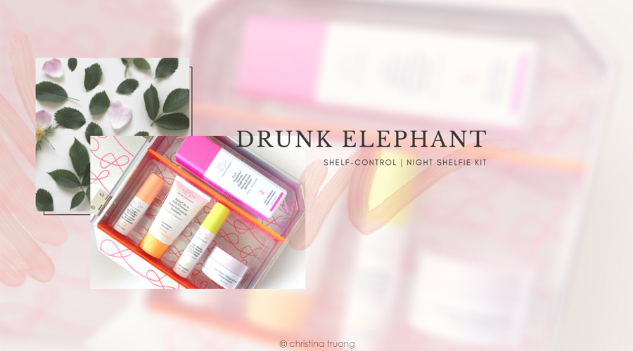 Drunk Elephant Shelf Control Night Shelfie Kit