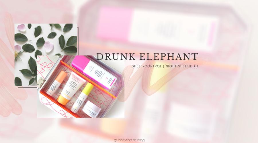 Drunk Elephant Shelf Control Night Shelfie Kit