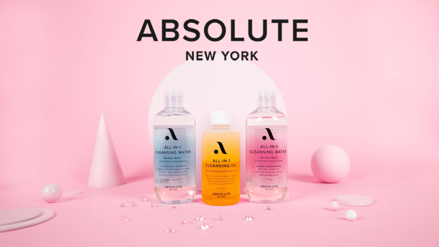 Absolute New York All In One Micellar Water Cleansing Oil