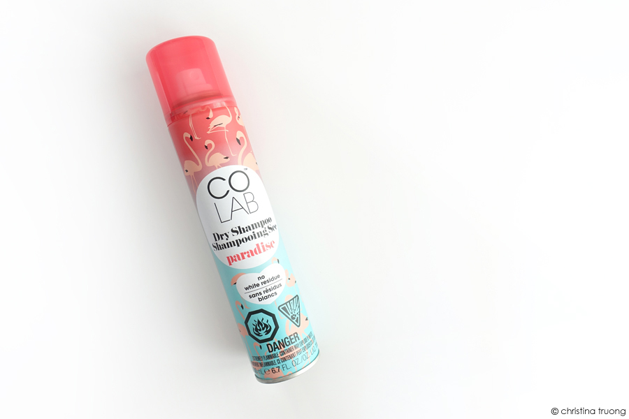 COLAB Dry Shampoo Paradise Review