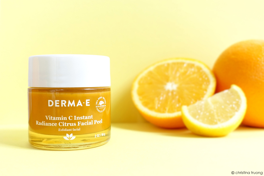 DERMA E Vitamin C Radiance Citrus Exfoliant Facial Peel Review Product