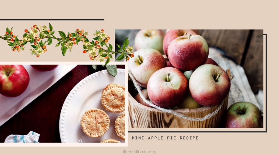 Easy Simple Delicious Mini Apple Pie Recipe