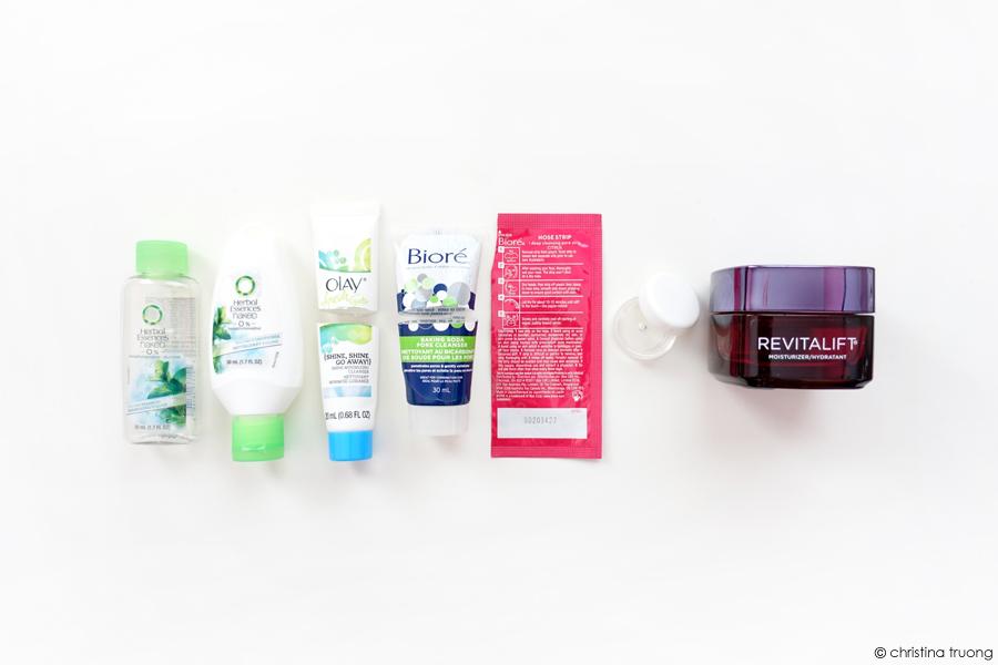 November 2020 Empties Hair Skin Care Herbal Essences Olay Biore LOreal