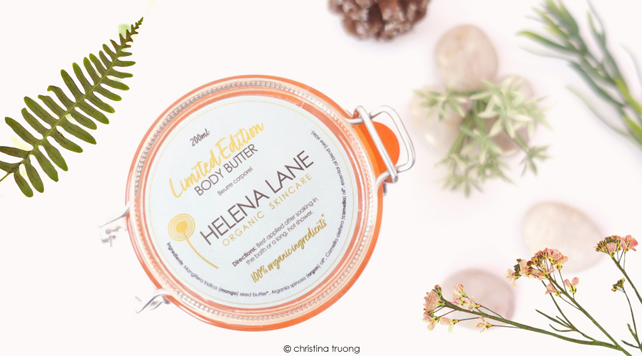 Helena Lane Organic Skincare Essential Holiday Gifts Ideas Limited Edition Body Butter
