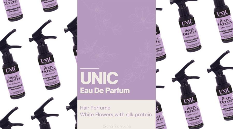 UNIC Eau De Parfum Hair Perfume White Flowers Review
