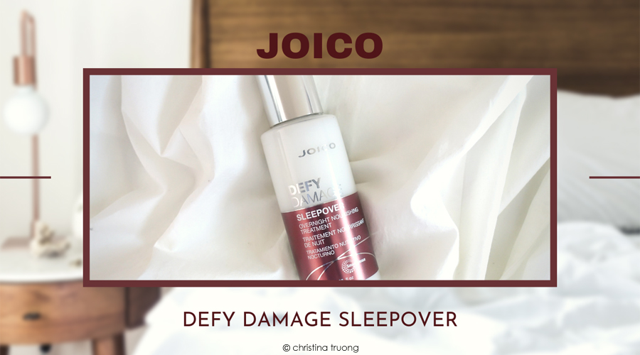 Joico Defy Damage Sleepover Overnight Nourishing Hair Treatment Review