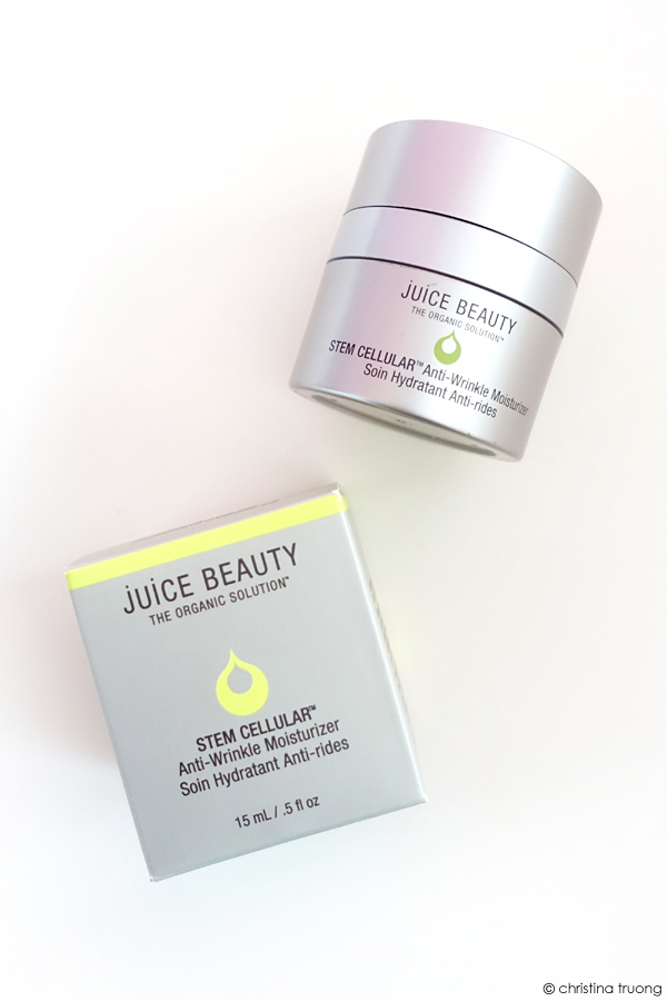 Juice Beauty Stem Cellular Anti Wrinkle Moisturizer Skincare Review