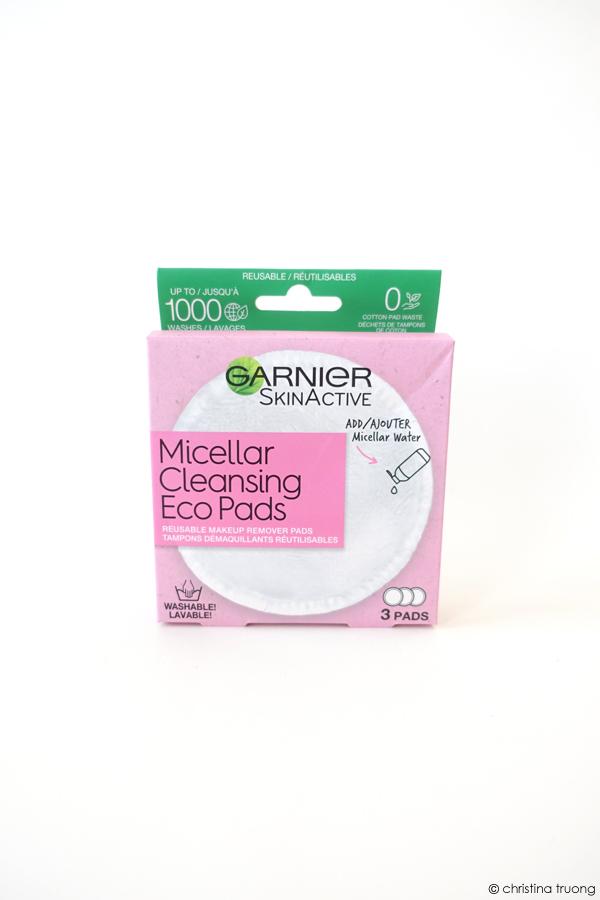 Garnier SkinActive Micellar Cleansing Reusable Eco Pads Review