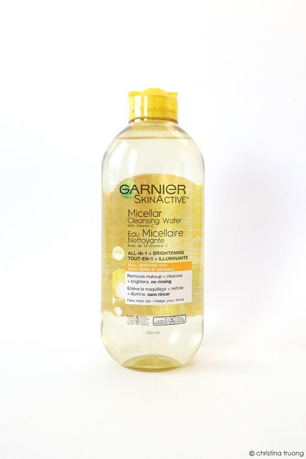 Garnier SkinActive Micellar Cleansing Water with Vitamin C Review