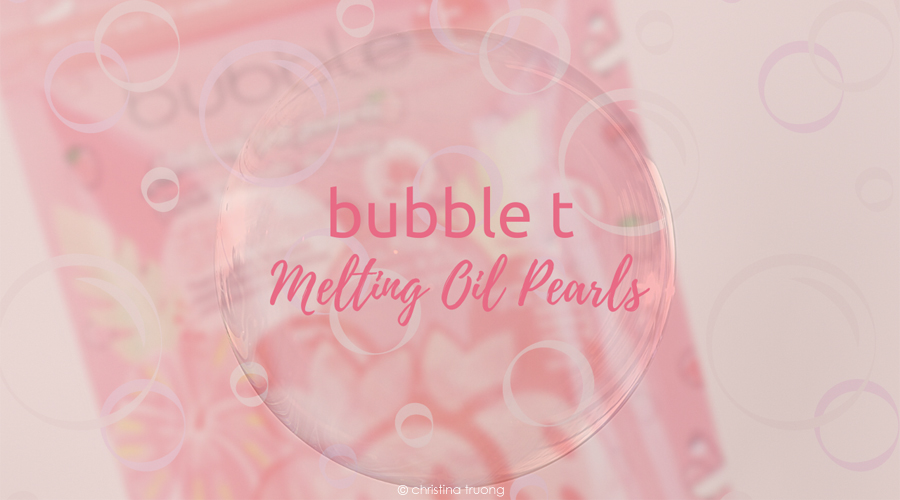 Bubble T Melting Oil Pearls Hibiscus and Acai Berry Tea Review