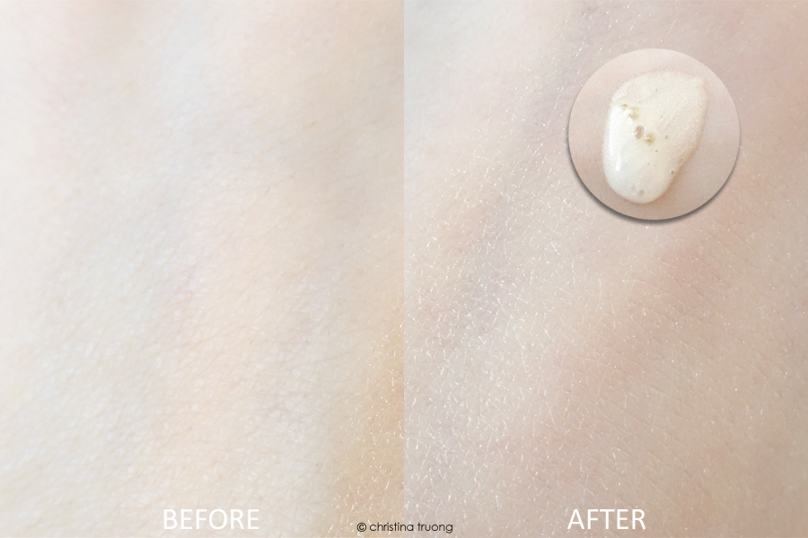 Revlon PhotoReady Rose Glow Hydrating and Illuminating Primer Review Swatch