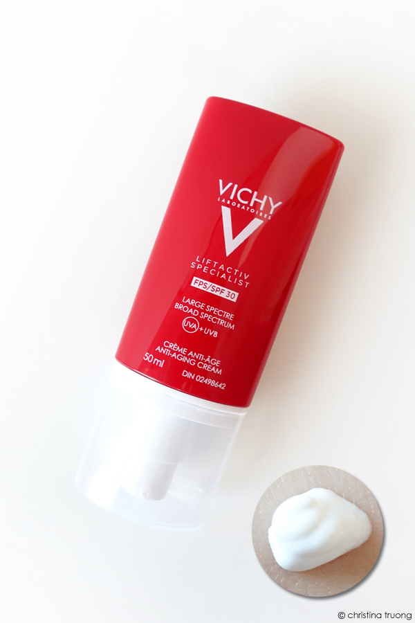 Vichy Liftactiv Specialist SPF 30 Suncreen Moisturizer with Biopeptides and Vitamin Cg Review