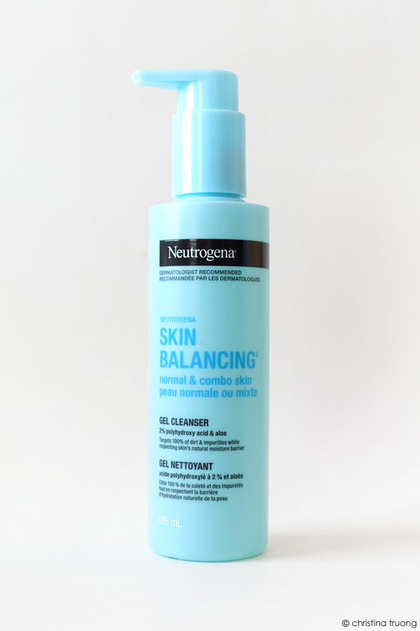 Neutrogena Skin Balancing Gel Cleanser Normal and Combination Skin Review