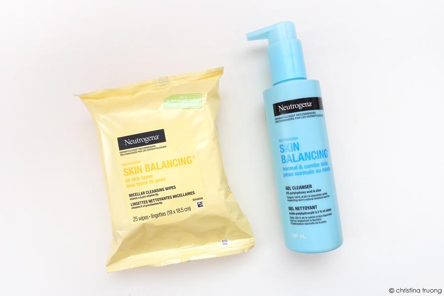 Neutrogena Skin Balancing Micellar Cleansing Wipes Gel Cleanser Normal Combo Skin Review