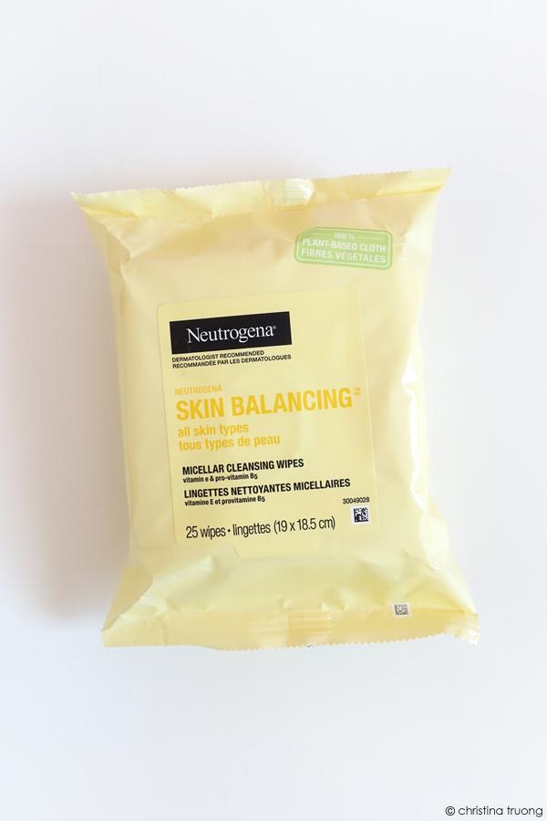 Neutrogena Skin Balancing Micellar Cleansing Wipes Review