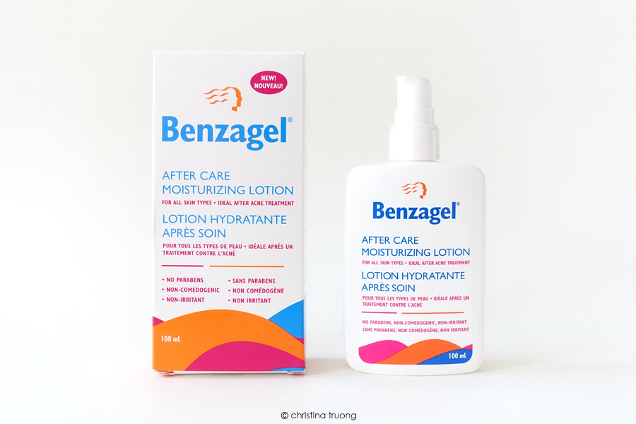 Benzagel After Care Moisturizing Lotion Review