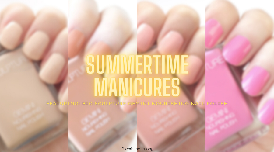 Summertime Manicures Bio Sculpture Gemini Nourishing Nail Polish